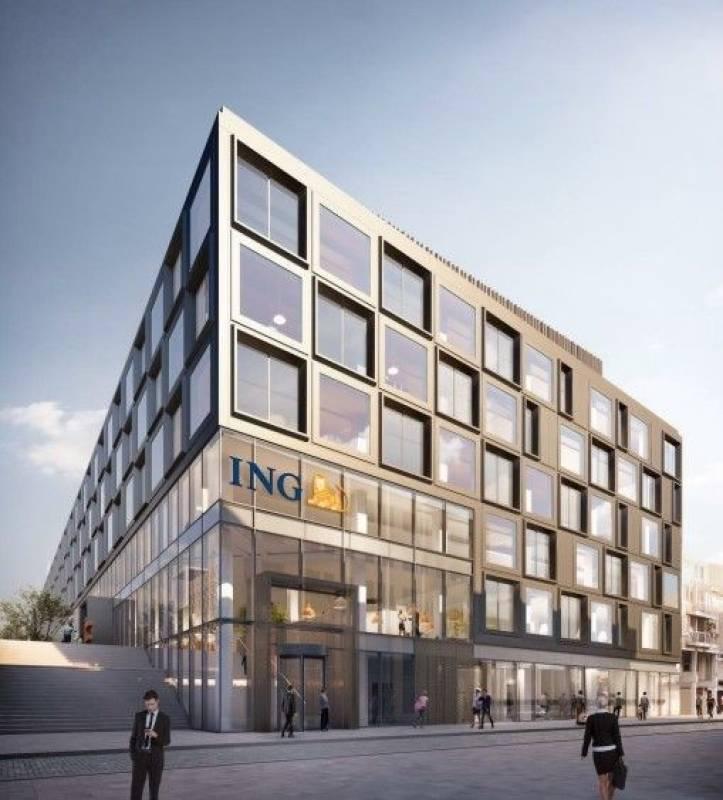 Kantoor ING-Financial Plaza te Amsterdam